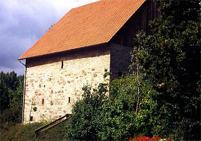 Bauernburg – das älteste Gebäude
